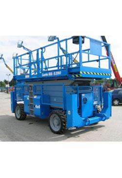 Genie GS5390RT Diesel Scissor Lift - Workplatform