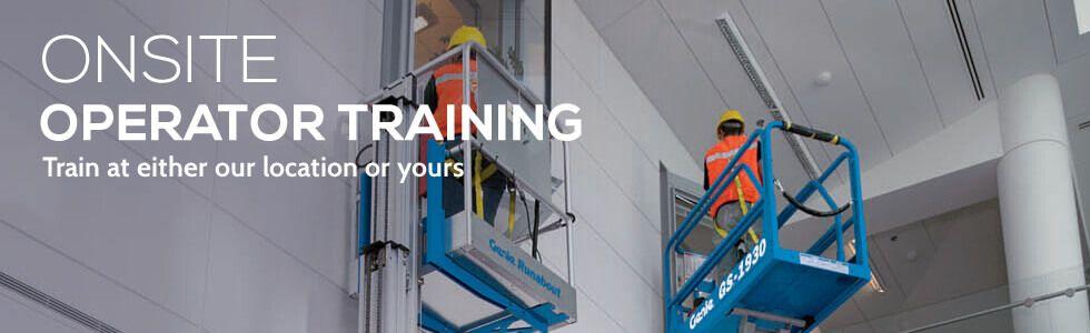 Operator Training