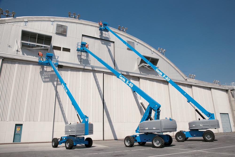 Genie S45 Telescopic Boom Lift Workplatform