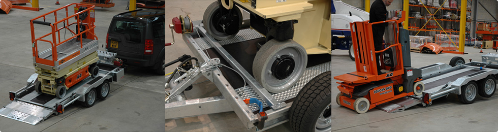 Material Lift Trailers
