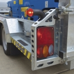 541-1110 Scissor Lift Trailer