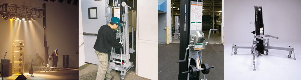 Genie Super Tower Material Lifts | Workplatform Ltd