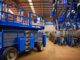 workplatform warehouse with genie products