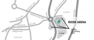 Ricoh Arena Map