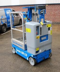 Used Genie GR15 WP6030 4