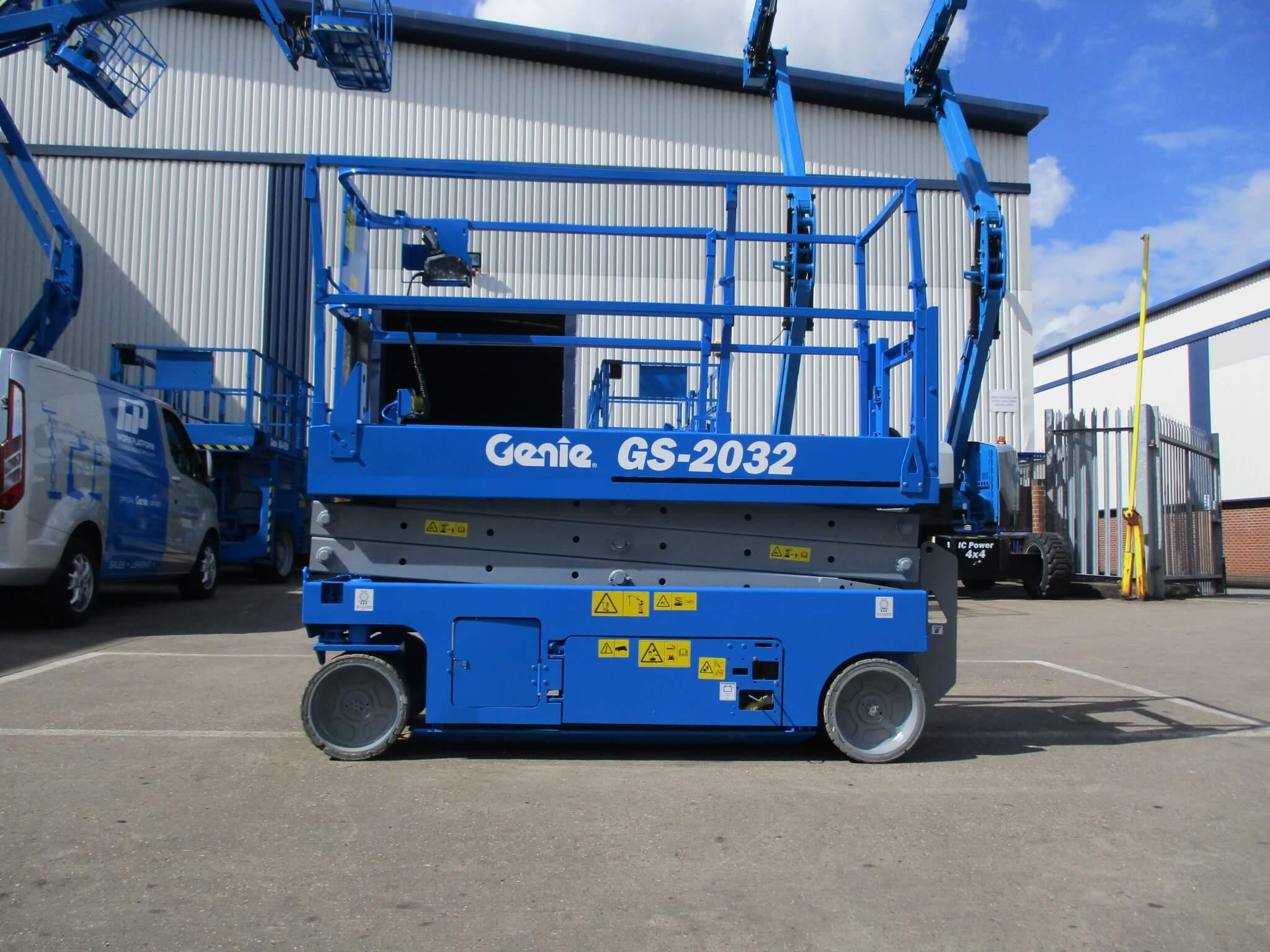 Used Genie GS2032 WP9033 7