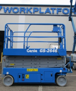 Used Genie GS2646 WP8496 1