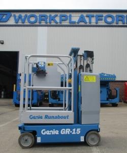 Used Genie GR15 WP6890 1