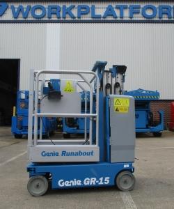 Used Genie GR15 WP6917 1