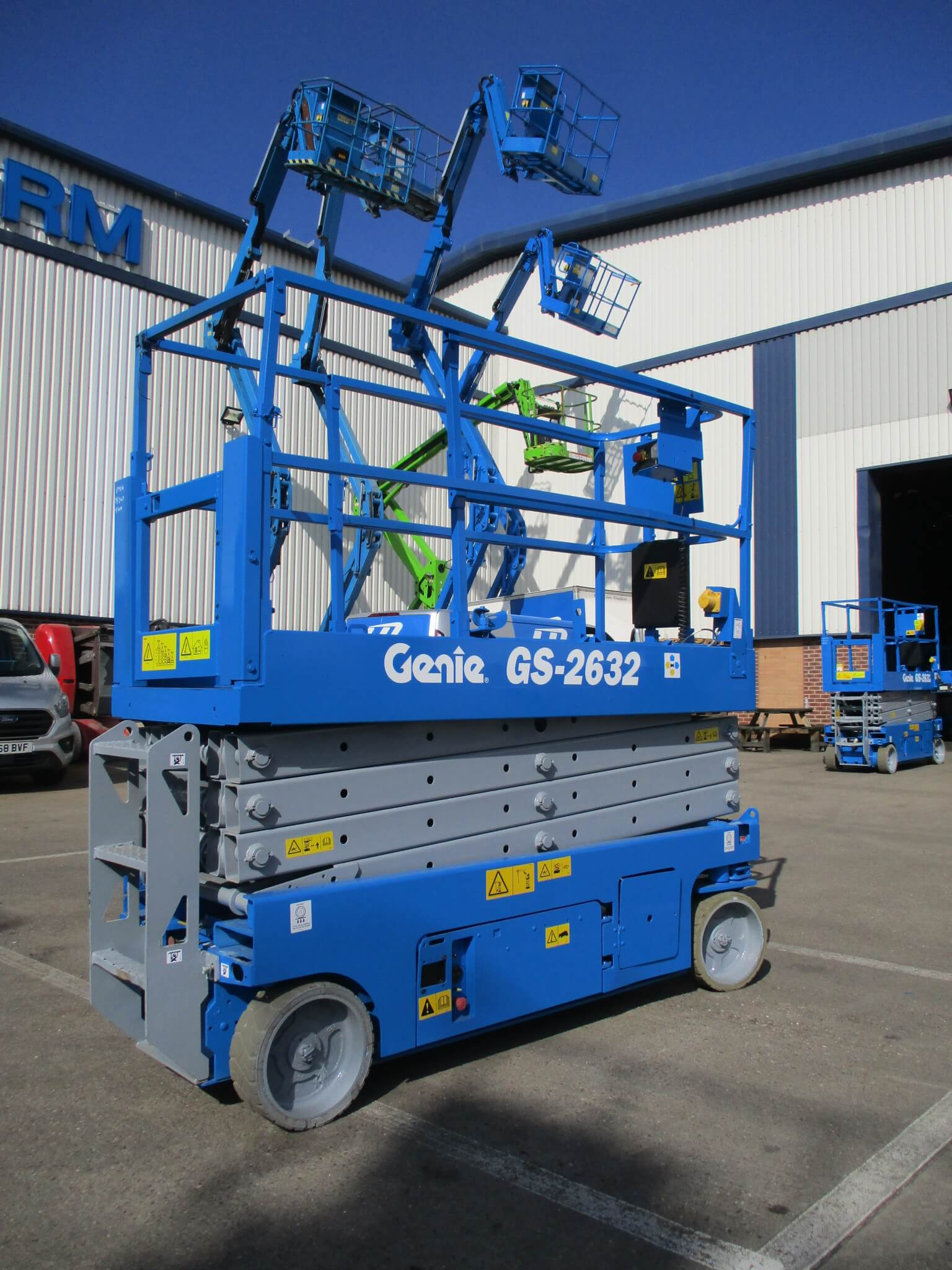 Used Genie GS2632 WP9702 4