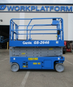 Used Genie GS2646 WP9375 7