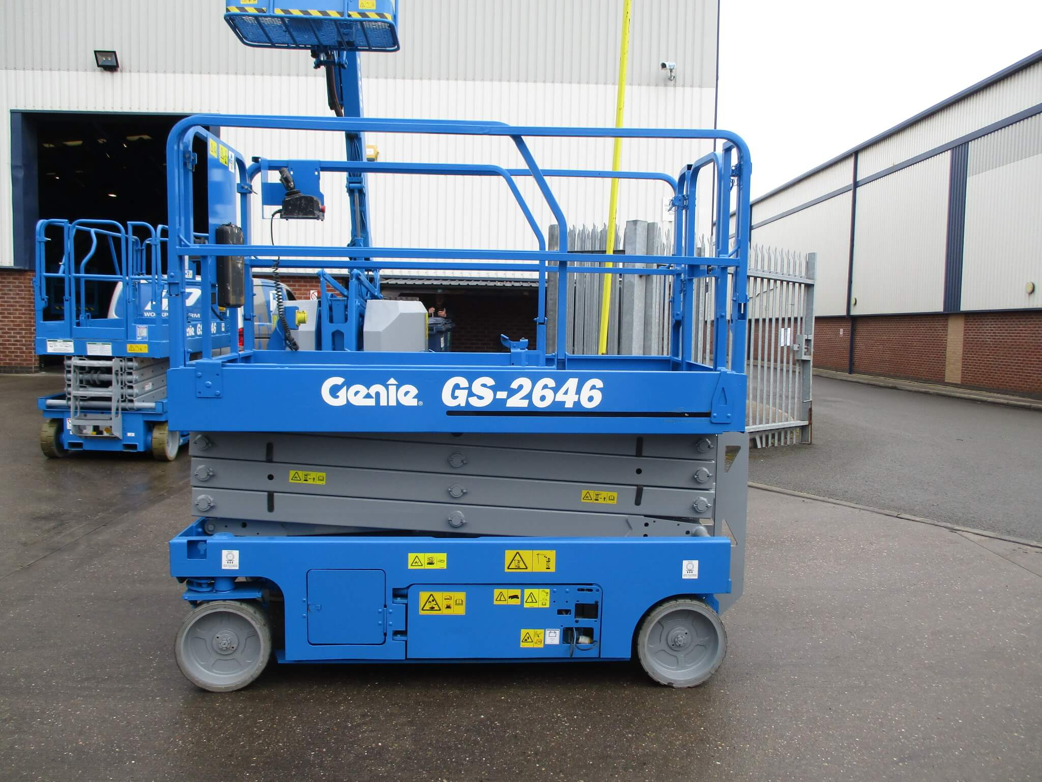Used Genie GS2646 WP7216 2