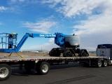 Genie Z 62 40 TraX on truck